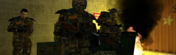 Metro2033 Models and Ragdolls