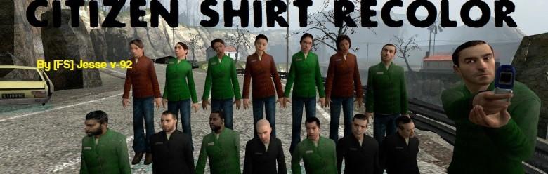 Citizen Shirt Recolor For Garry's Mod Image 1