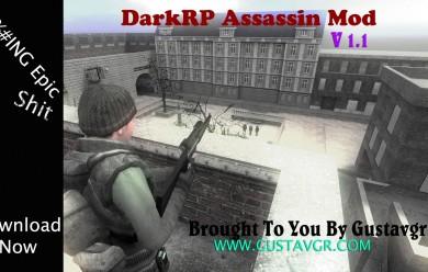 DarkRP Assassin Mod V 1.1r For Garry's Mod Image 1
