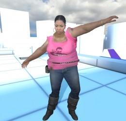 Fat Zoey & Fat Rochelle(L4D) For Garry's Mod Image 2