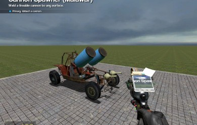 Cannon 1.3 For Garry's Mod Image 1