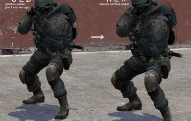obsolete combine soldier For Garry's Mod Image 2