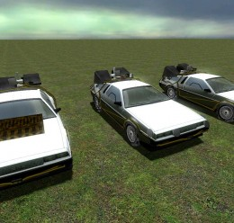 bttf_pack_cars.zip For Garry's Mod Image 1