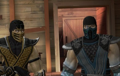 Scorpion and Subzero npc and p For Garry's Mod Image 1