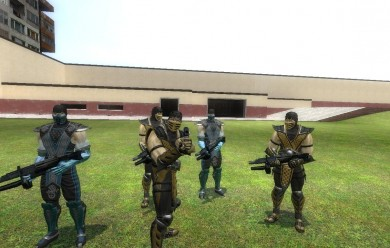 Scorpion and Subzero npc and p For Garry's Mod Image 2