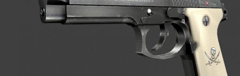 Rin's Black Lagoon Revy's Gun For Garry's Mod Image 1