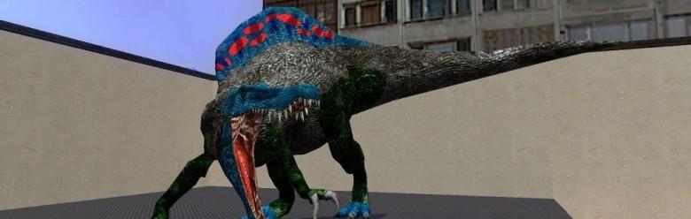Slasher Spinosaur Skin.zip For Garry's Mod Image 1