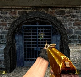 Gold Chechen AK RP Swep For Garry's Mod Image 3