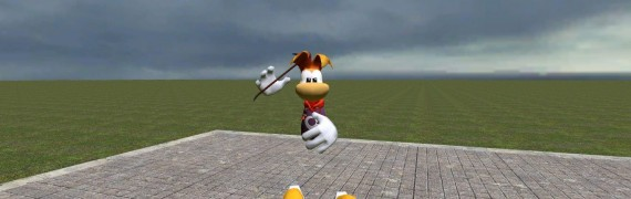 Rayman Playermodel and NPC FIX