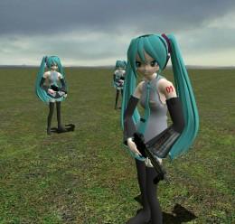 Miku NPC Download!! For Garry's Mod Image 1