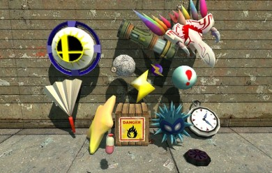 Brawl Items Pack V2 For Garry's Mod Image 1