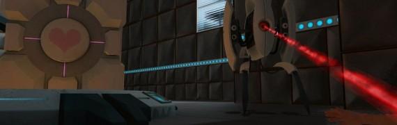 Portal Turret Pill alpha 1