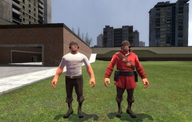 Casual WAR! Comic Soldier For Garry's Mod Image 2