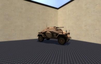 ww2_sdkfz_222_armored_car_v1.0 For Garry's Mod Image 1