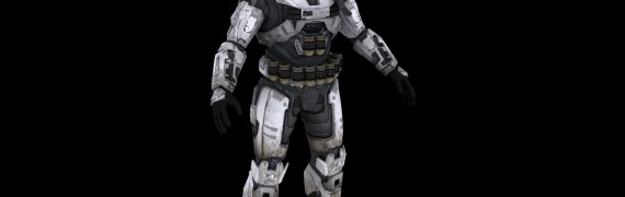 Halo Reach Spartan for 3ds max