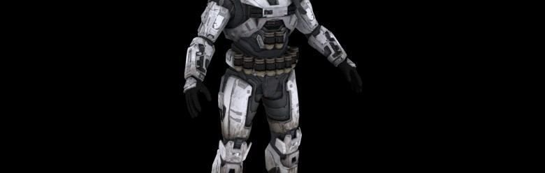 Halo Reach Spartan for 3ds max For Garry's Mod Image 1