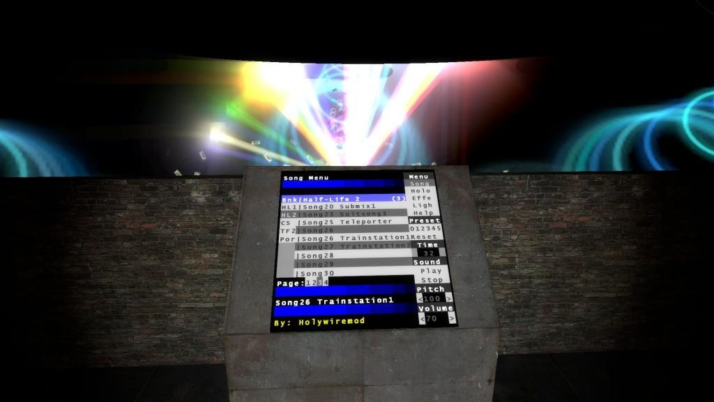 Dj Stand 2 (Touch Screen) | garrysmods org