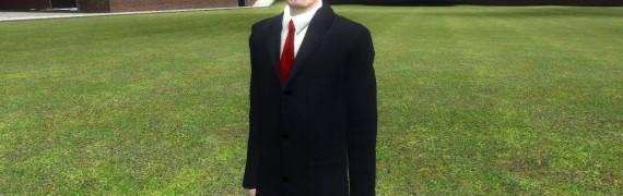 G-man's Black Suit by gsp1995