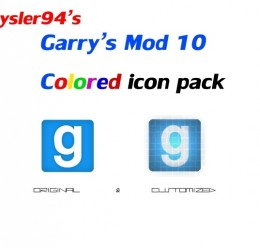 GMod 10 Icon Pack For Garry's Mod Image 1