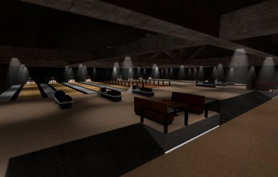 gm_bowlingalley.zip For Garry's Mod Image 1
