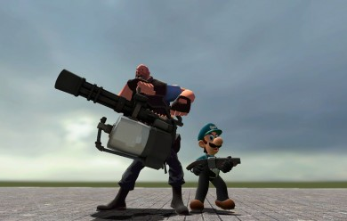 TF2 Styled Mario and Luigi.zip For Garry's Mod Image 2