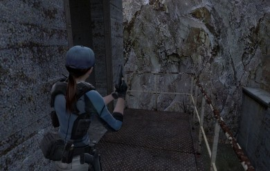 Jill Valentine BSAA For Garry's Mod Image 1