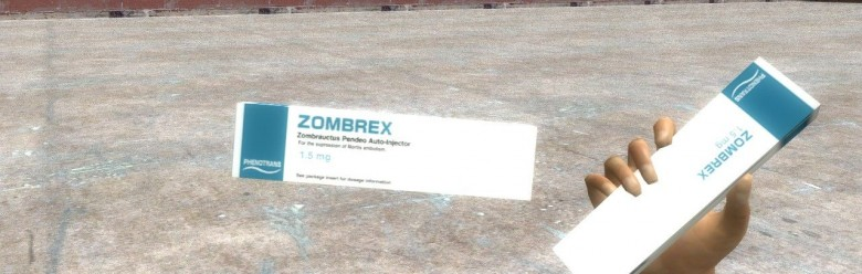 Dead Rising 2 Zombrex For Garry's Mod Image 1