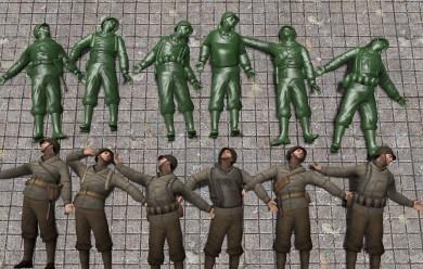 dod_plastic_army_men_skins_hex For Garry's Mod Image 1
