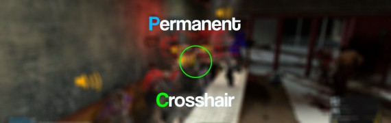 Permanent Crosshair