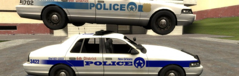 l4d2_new_orleans_policer_car_h For Garry's Mod Image 1