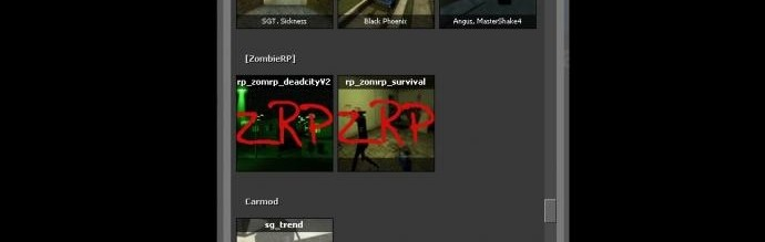 zombmaps.zip For Garry's Mod Image 1