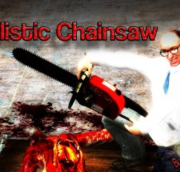 Realistic Chainsaw SWEP V1 For Garry's Mod Image 1