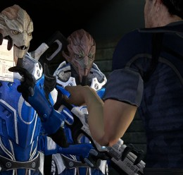Blue Suns Turian Females Hexed For Garry's Mod Image 3