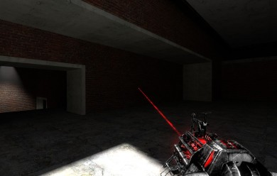 Red 'n Black Physgun For Garry's Mod Image 1