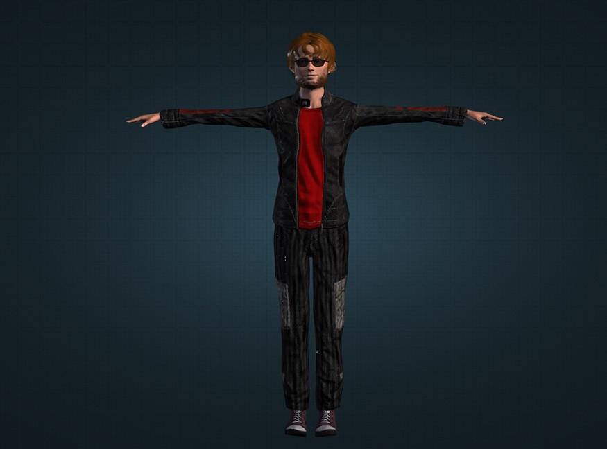 James (Player Model) by Rom | garrysmods org