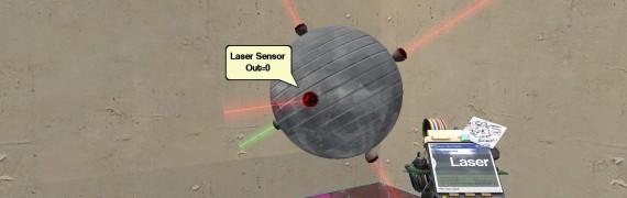 Wired Laser Sensor