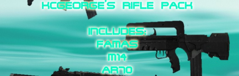 KCGEORGE's Rifle Pack For Garry's Mod Image 1