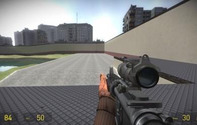 battlefield_3_m4a1_addon.zip For Garry's Mod Image 1