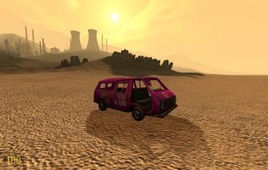 hippie van (actual vehicle) For Garry's Mod Image 1