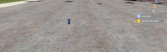 Water Explosive