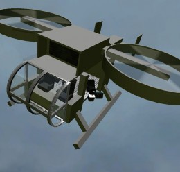 Derka's dual rotor heli.zip For Garry's Mod Image 1