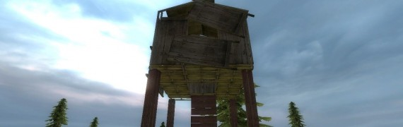 Wooden Sniper Tower
