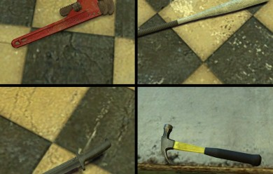melee_weapons.zip For Garry's Mod Image 2