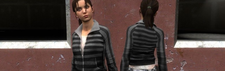 L4D Emo Zoey For Garry's Mod Image 1