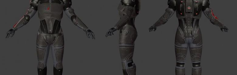 Mass Effect John Shepard For Garry's Mod Image 1