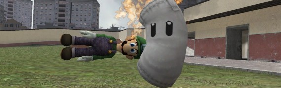 Super Smash Bros Luigi Beta