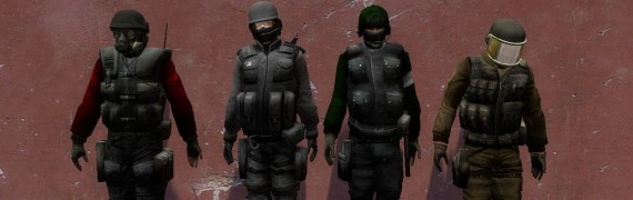 Reskins for CS:S and Gman