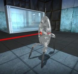 Urban Camo Portal Turret For Garry's Mod Image 3