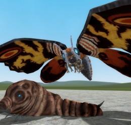 The Goddess of Peace: Mothra For Garry's Mod Image 1