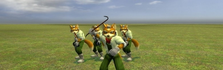 fox_mccloud_v3a.zip For Garry's Mod Image 1